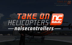 Take on helicopter - Noise Controllers